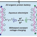 An All-Organic Proton Battery Energised for Sustainable Energy Storage